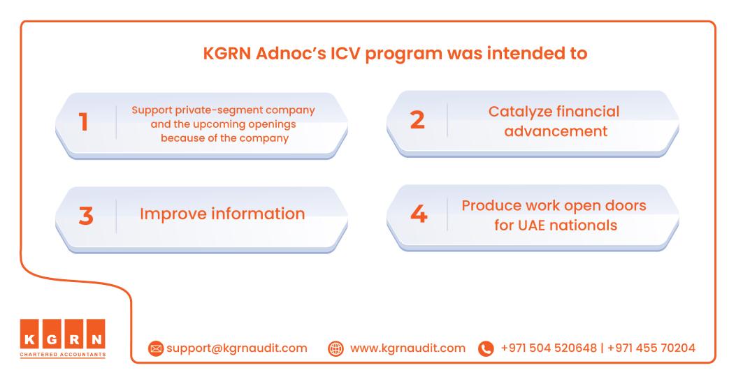 ICV Certification - KGRN's Adnoc ICV program